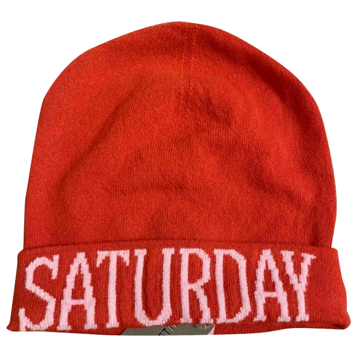 Alberta Ferretti \N Red Wool hat for Women 54 cm