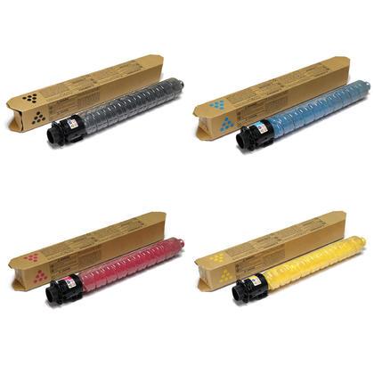 Ricoh 841918 841919 841920 841921 cartouche de toner originale combo haute capacité BK/C/M/Y