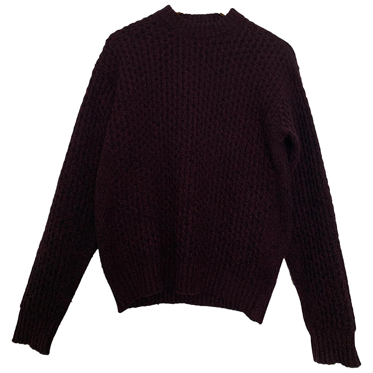 Prada \N Burgundy Wool Knitwear & Sweatshirts for Men 48 IT