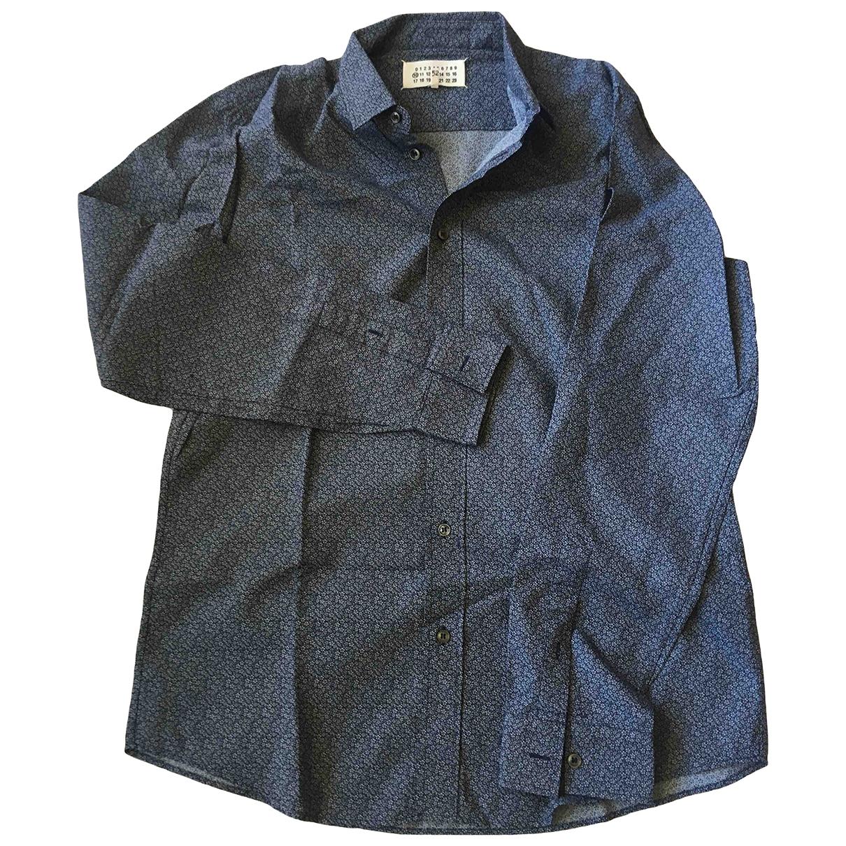 Maison Martin Margiela - Chemises   pour homme en coton - marine