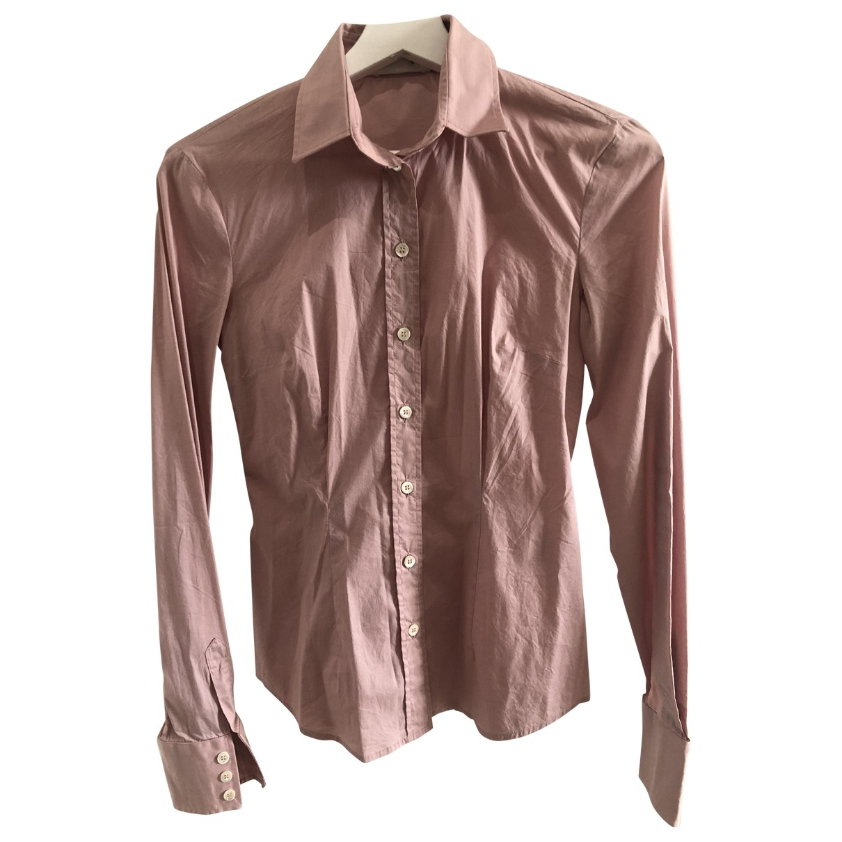 D&g \N Pink Cotton  top for Women 38 IT