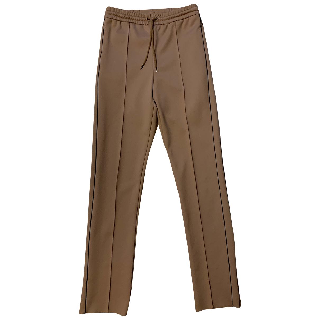 Joseph - Pantalon   pour femme en coton - beige