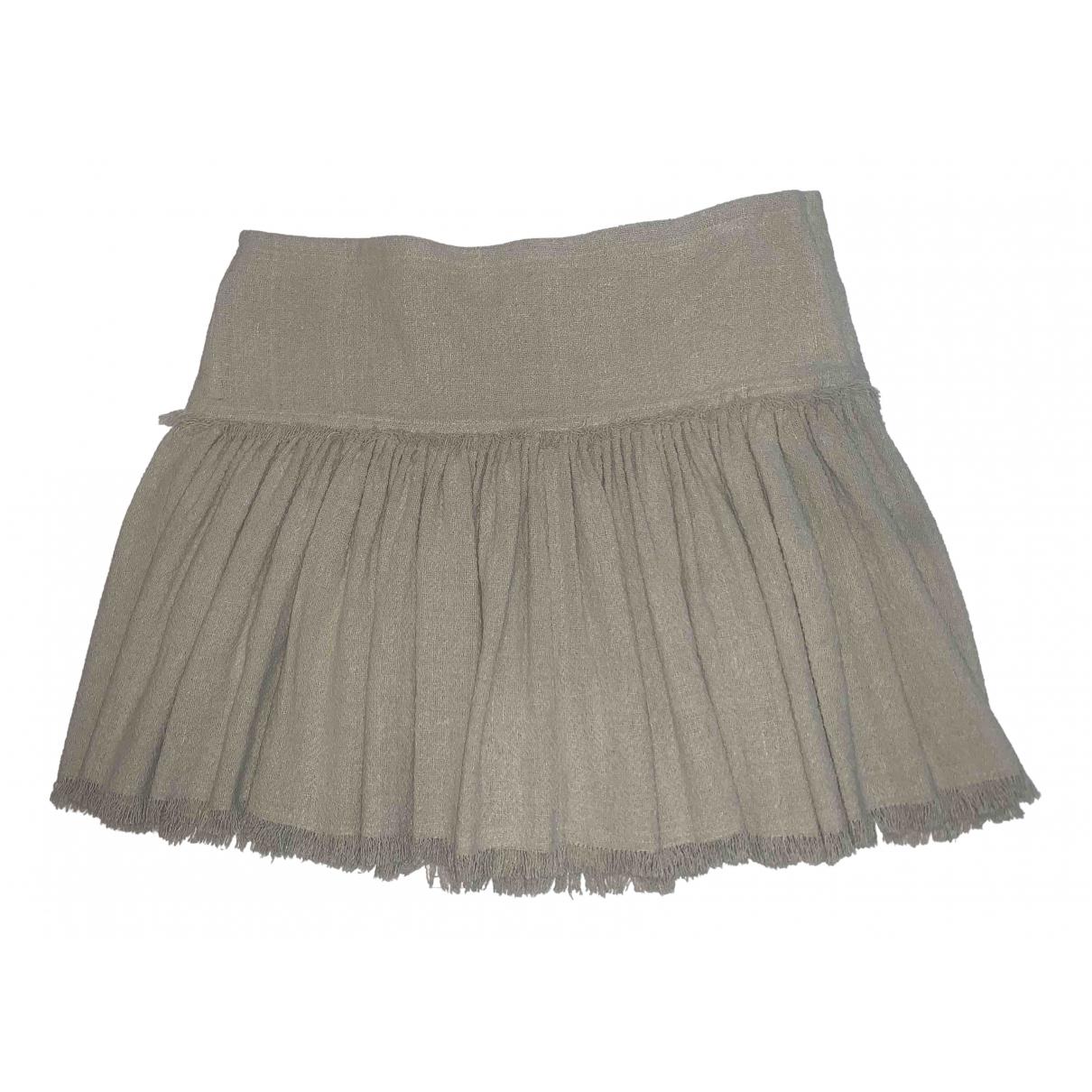 Isabel Marant Etoile - Jupe   pour femme en coton - beige
