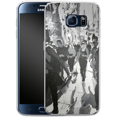 Samsung Galaxy S6 Silikon Handyhuelle - It Was the Dog von Tom Christopher