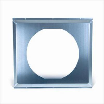 Flex-A-Lite Electric Fan Shroud Aluminum 28 Inch x 19.5 Inch x 1.1 Inch 16 Inch Fan Hole Incl. Mounting Hardwar - 53528