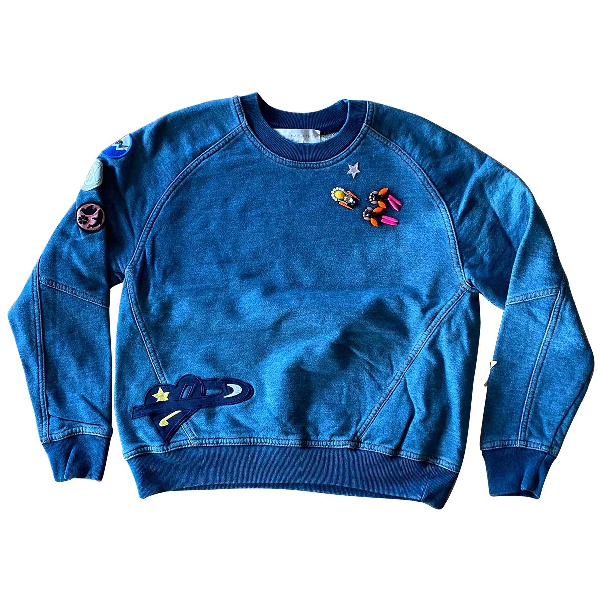 Stella Mccartney \N Blue Cotton Knitwear for Women 40 IT
