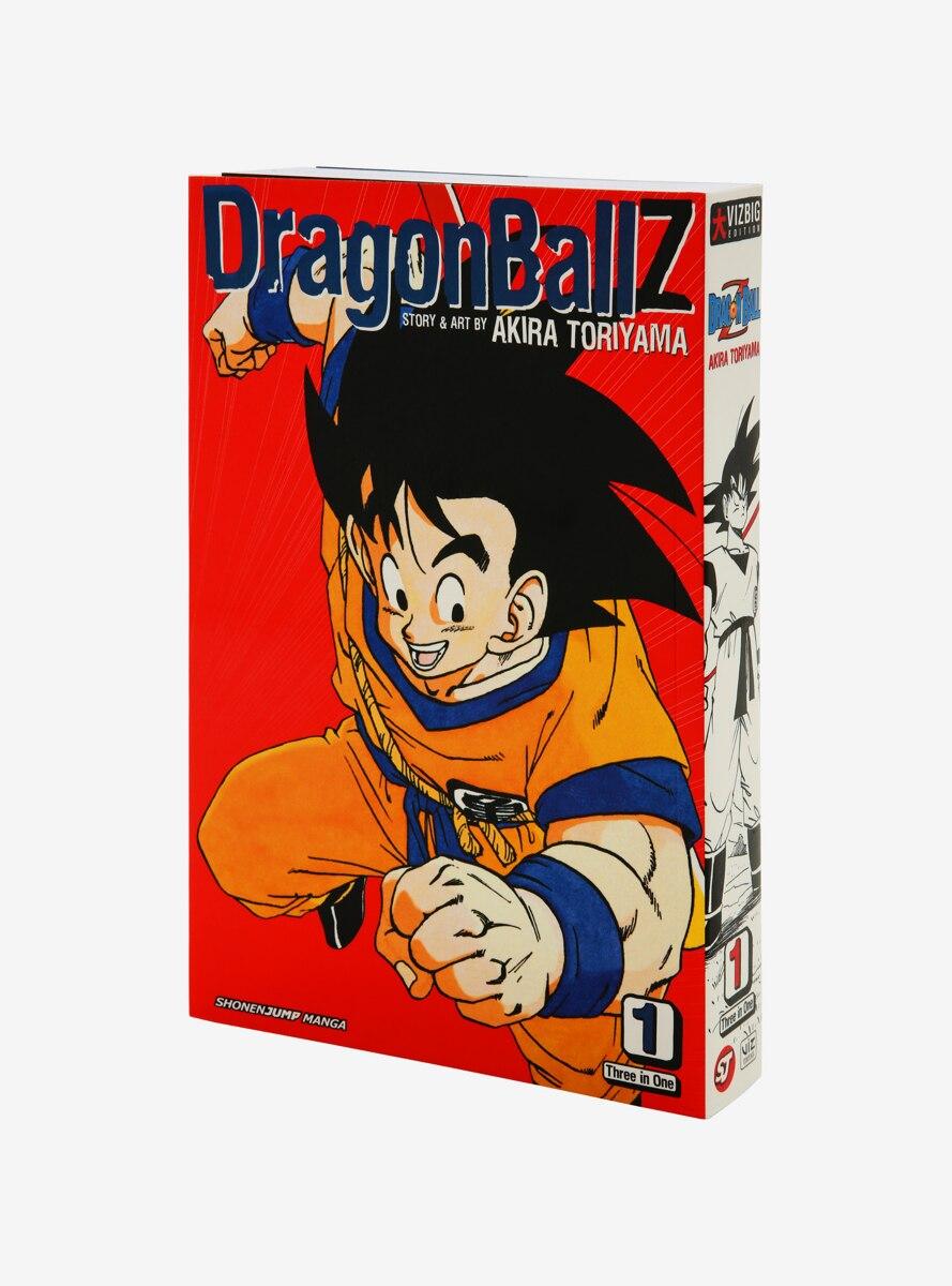 Dragon Ball Z Omnibus Vol. 1 Manga