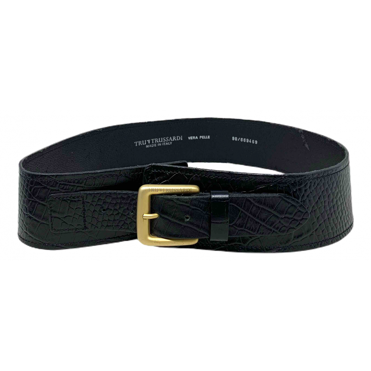 Cinturon de Cuero Trussardi
