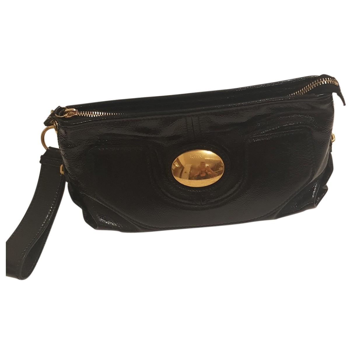 Alexander Mcqueen N Black Patent leather Clutch bag for Women N