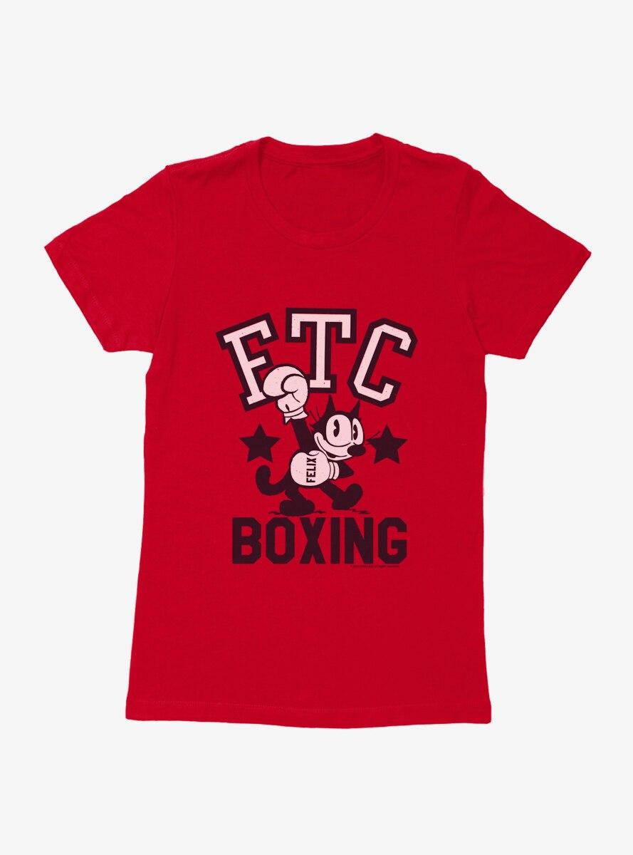 Felix The Cat FTC Boxing Womens T-Shirt
