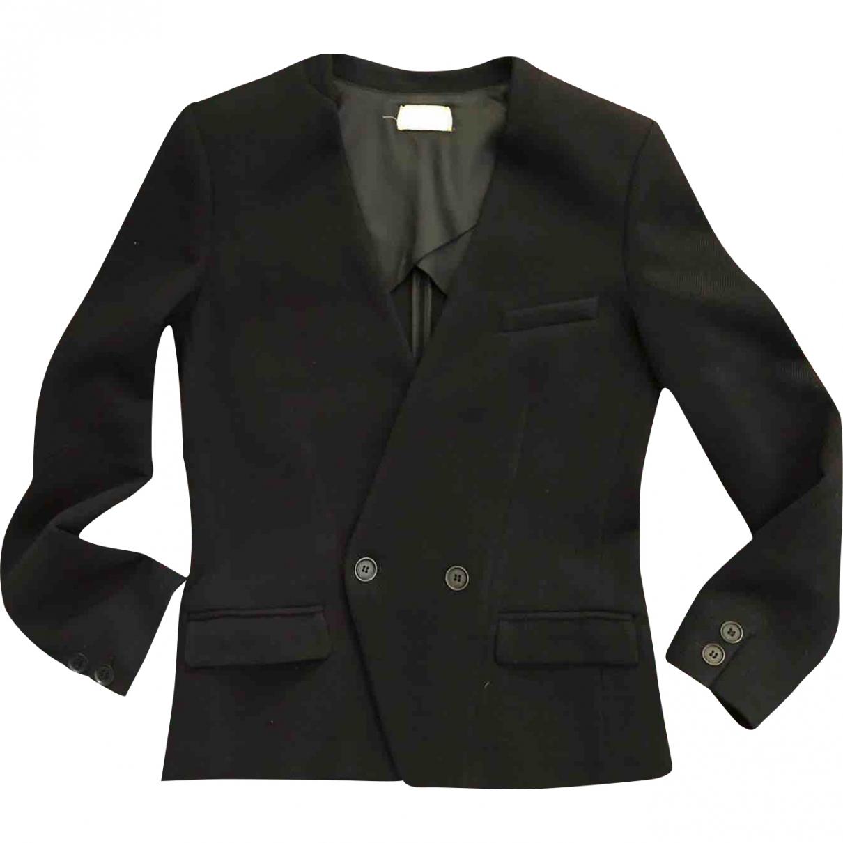 Forte_forte \N Black Wool jacket for Women 0 0-5