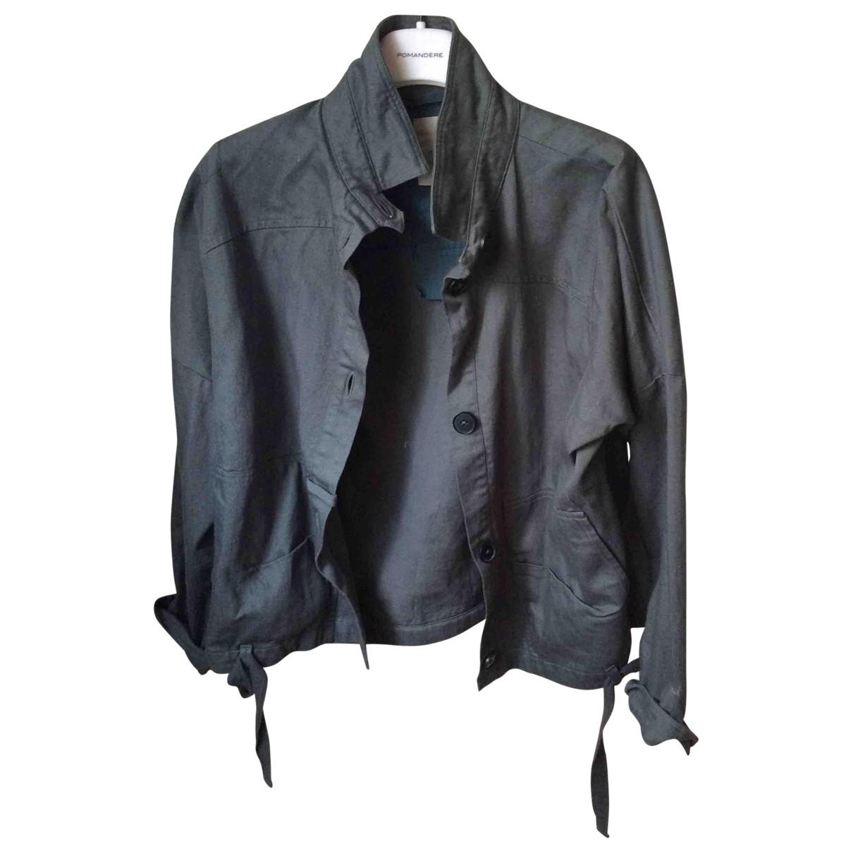 Humanoid \N Green Cotton jacket for Women XS International