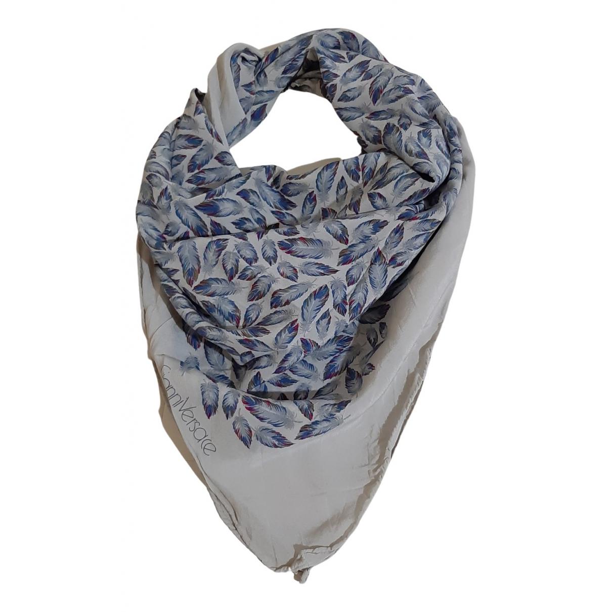 Gianni Versace N Blue Silk scarf for Women N