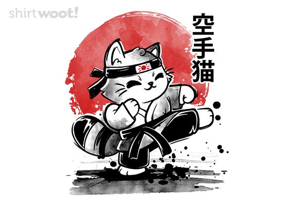 Karate Cat T Shirt