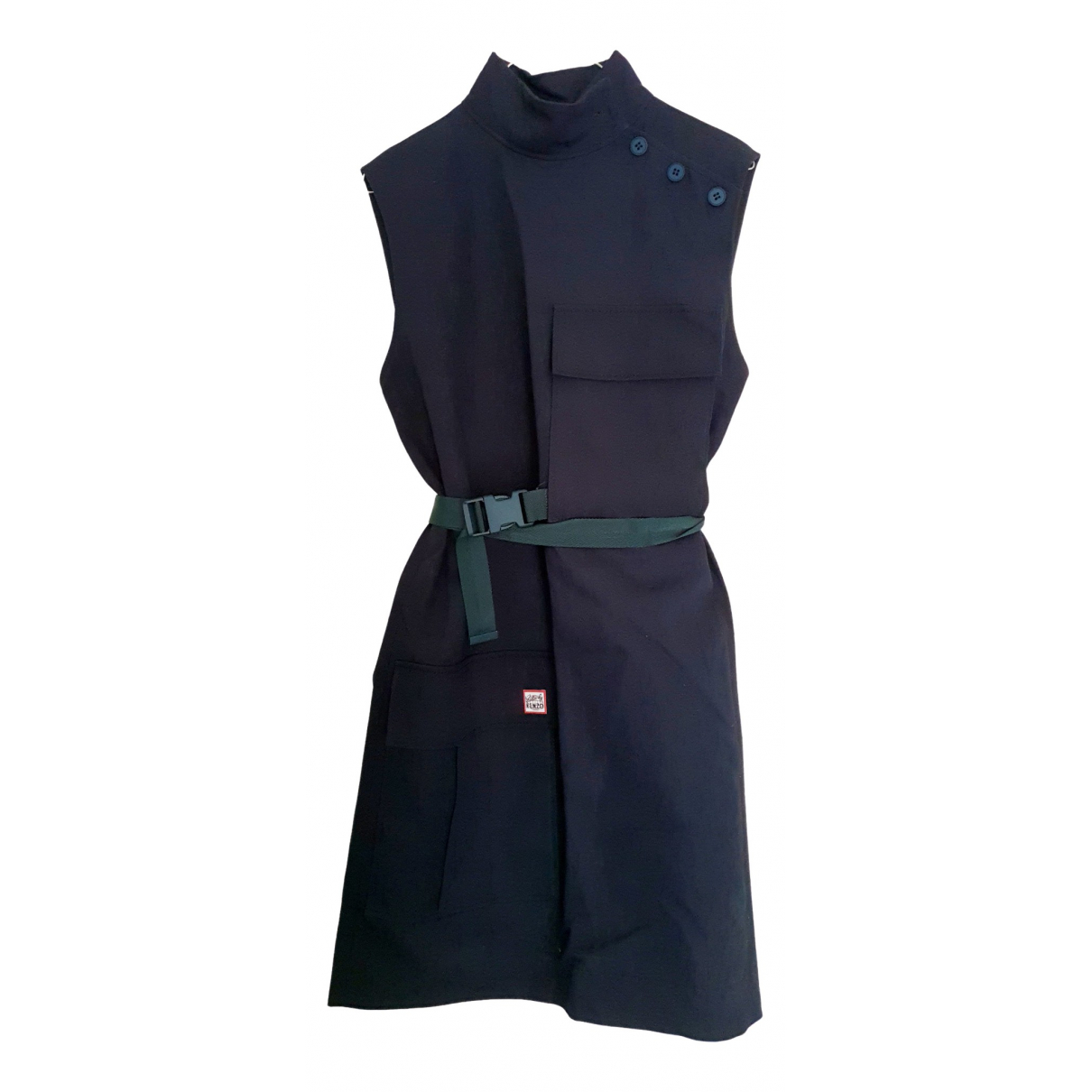Kenzo \N Navy Cotton dress for Women 38 FR