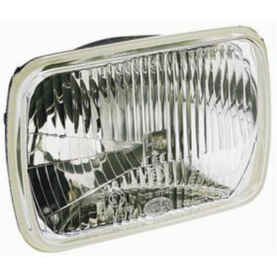 Hella 5x7 Inch High/Low Beam Headlamp ECE (Clear) - 003427861