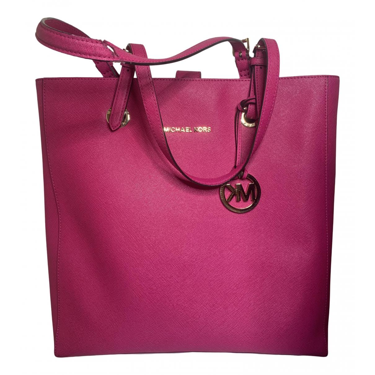 Michael Kors \N Handtasche in  Rosa Kunststoff