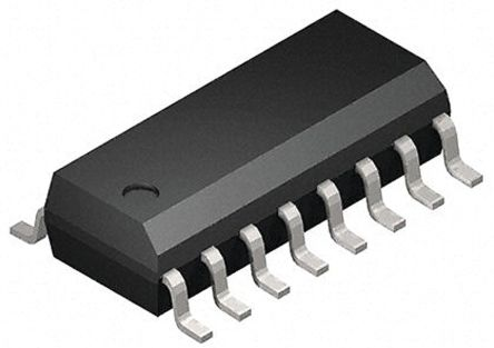 Toshiba 74HC595D Shift Register/Latch, Serial to Parallel, , Uni-Directional, 16-Pin SOIC (50)