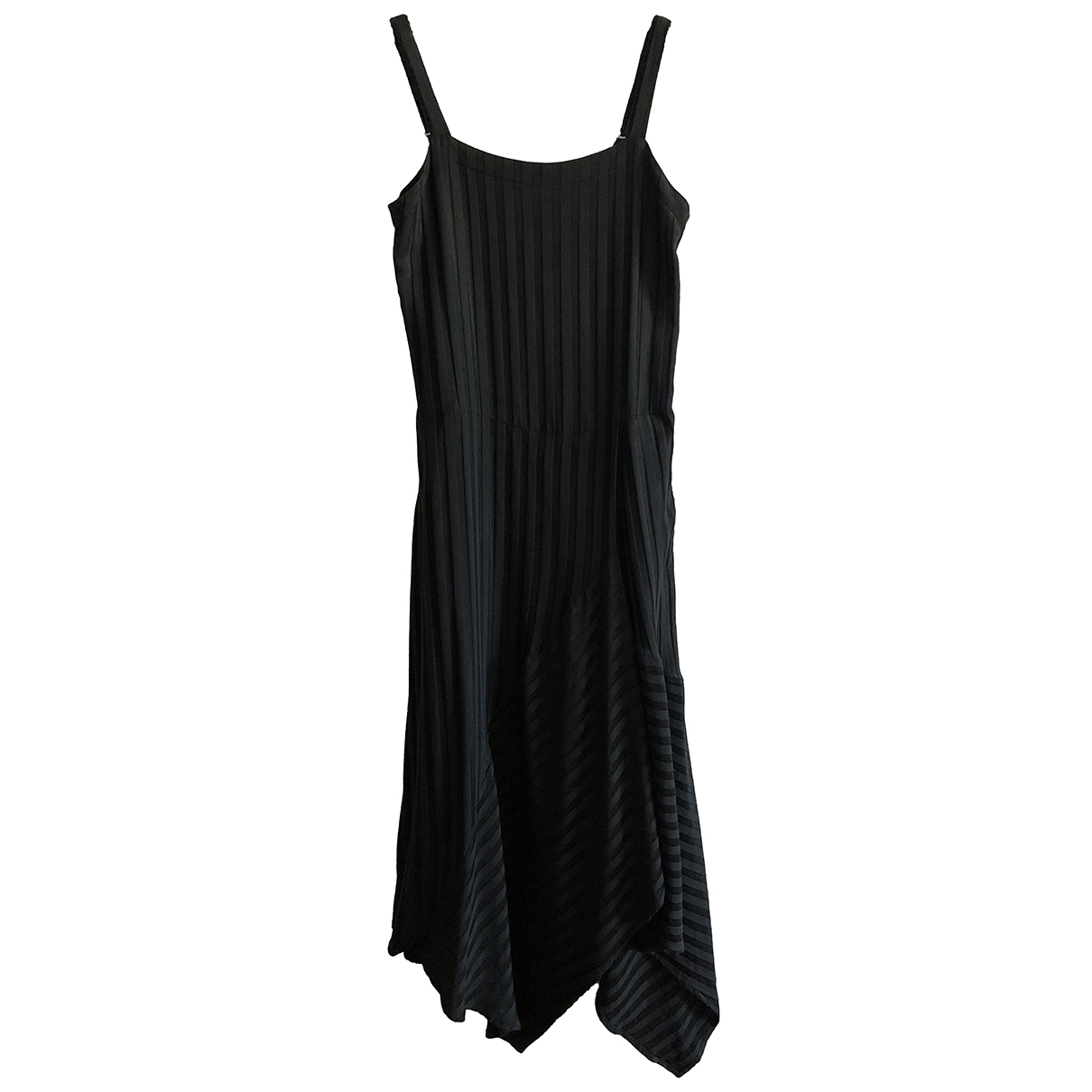Masscob \N Kleid in  Schwarz Baumwolle