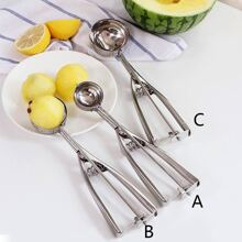 Stainless Steel Ice Cream Ball Scoop 1pc