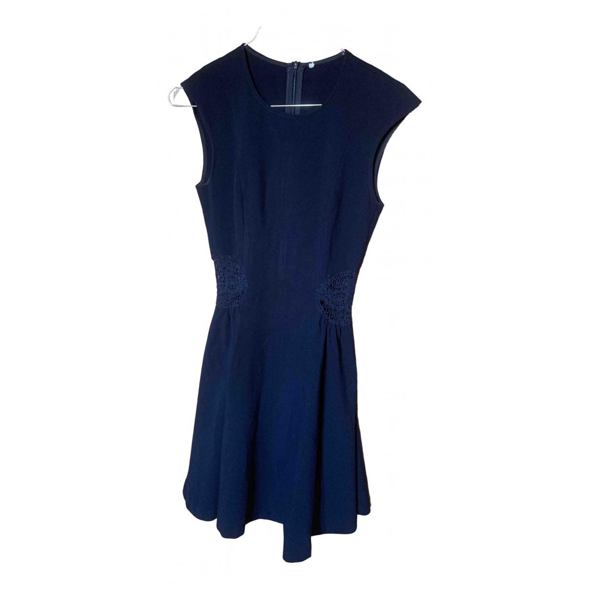Ba&sh \N Kleid in  Blau Baumwolle