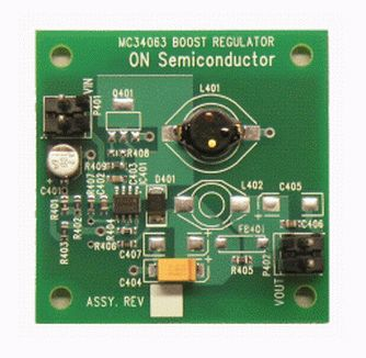 ON Semiconductor MC34063SMDBGEVB Switching Control Circuit Evaluation Board Buck-Boost Converter for MC34063ADR2G for