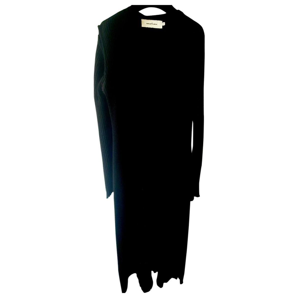 Marques Almeida N Black Wool dress for Women M International