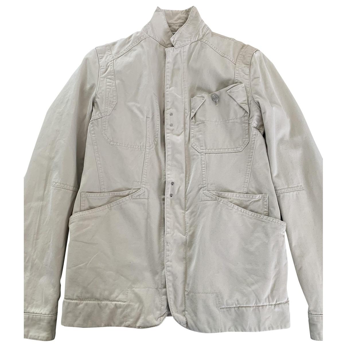 Dsquared2 \N Ecru Cotton jacket  for Men 50 FR