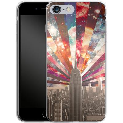 Apple iPhone 6 Plus Silikon Handyhuelle - Superstar New York von Bianca Green