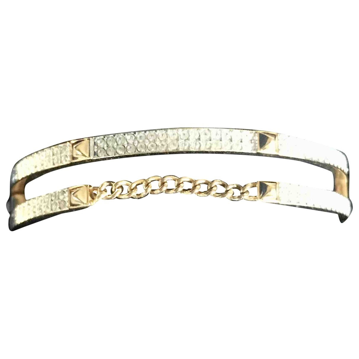 Swarovski \N Gold Gold plated bracelet for Women \N