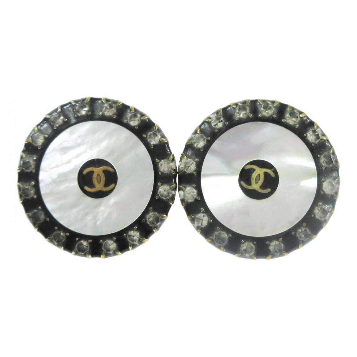 Chanel - Boucles doreilles CC pour femme