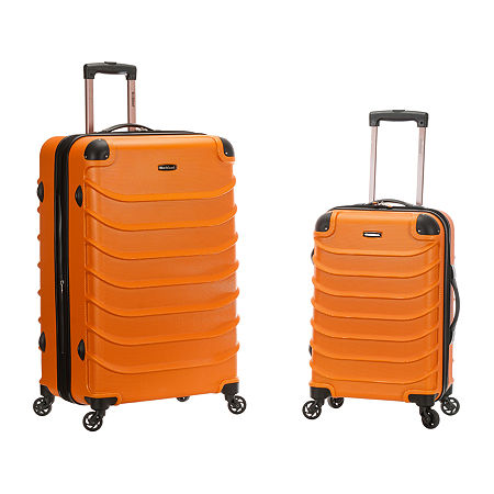 Rockland 2-pc. Hardside Luggage Set, One Size , Orange