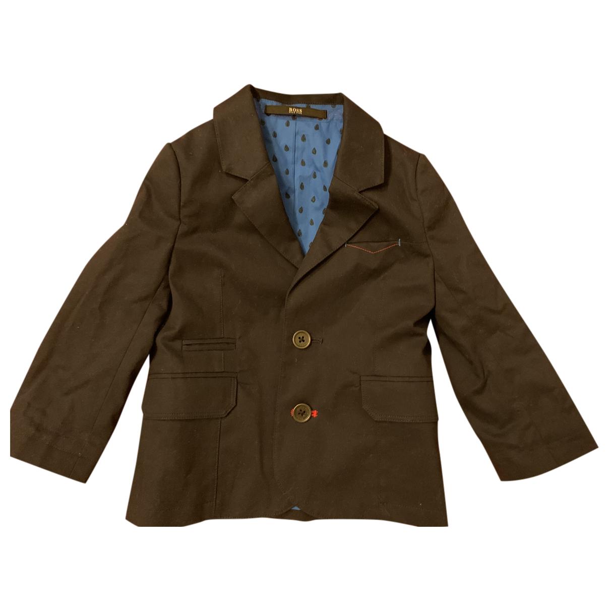 Hugo Boss N Navy Cotton jacket & coat for Kids 18 months - up to 81cm FR
