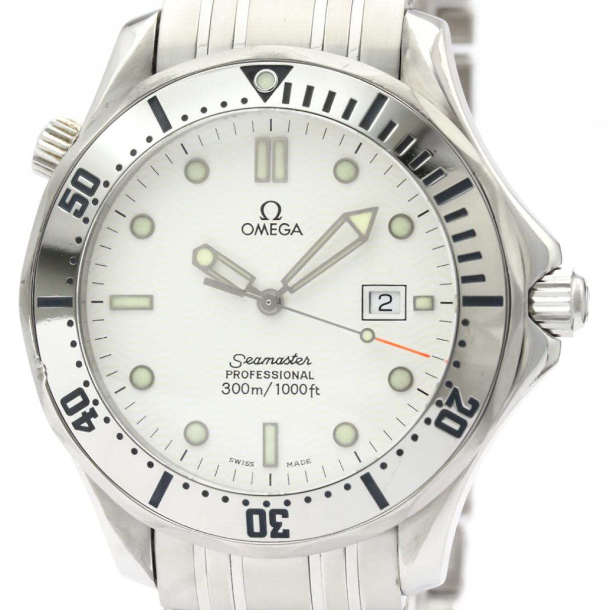 Omega Seamaster White Steel watch for Men \N