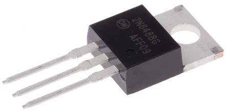 ON Semiconductor ON Semi 2N6488G NPN Transistor, 15 A, 80 V, 3-Pin TO-220AB