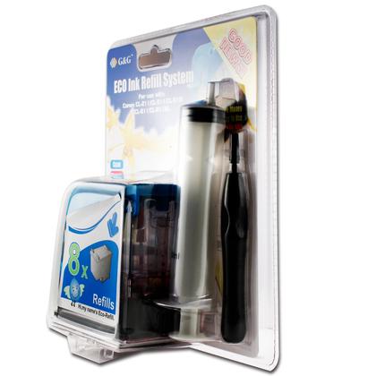 Canon CL211 kit de remplissage d'encre couleur - G&G™