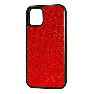 Reiko DIAMOND RHINESTONE Case For APPLE IPHONE 11 PRO MAX (Red)