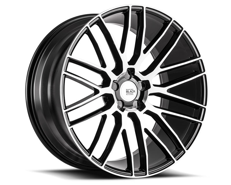 Savini BM13-19085510M3565 di Forza Machined Black with Black Lip BM13 Wheel 19x8.5 5x110 35mm