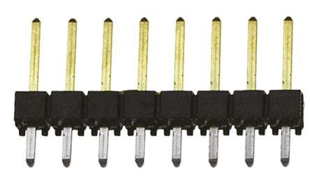 Samtec , TSW, 8 Way, 1 Row, Straight Pin Header