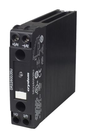 Sensata / Crydom 30 A SP Solid State Relay, Zero Cross, DIN Rail, MOSFET, 600 V rms Maximum Load