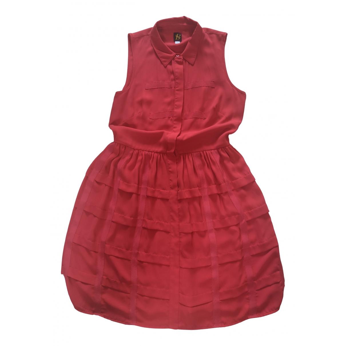 Sachin + Babi \N Kleid in  Rot Polyester