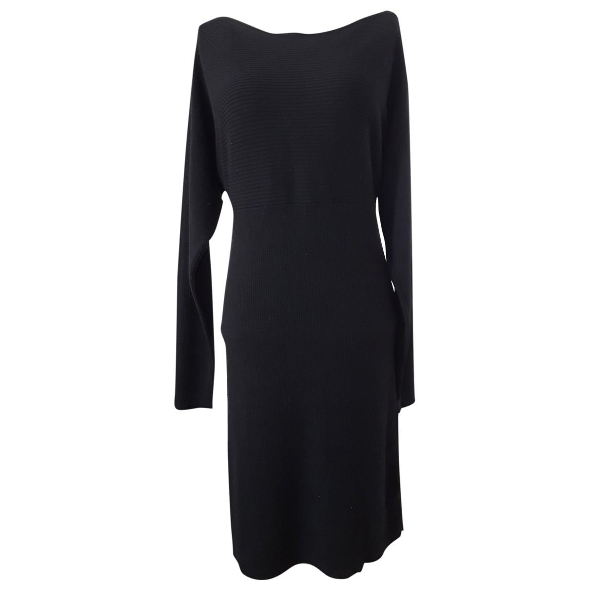 Agnes B. \N Kleid in  Schwarz Wolle