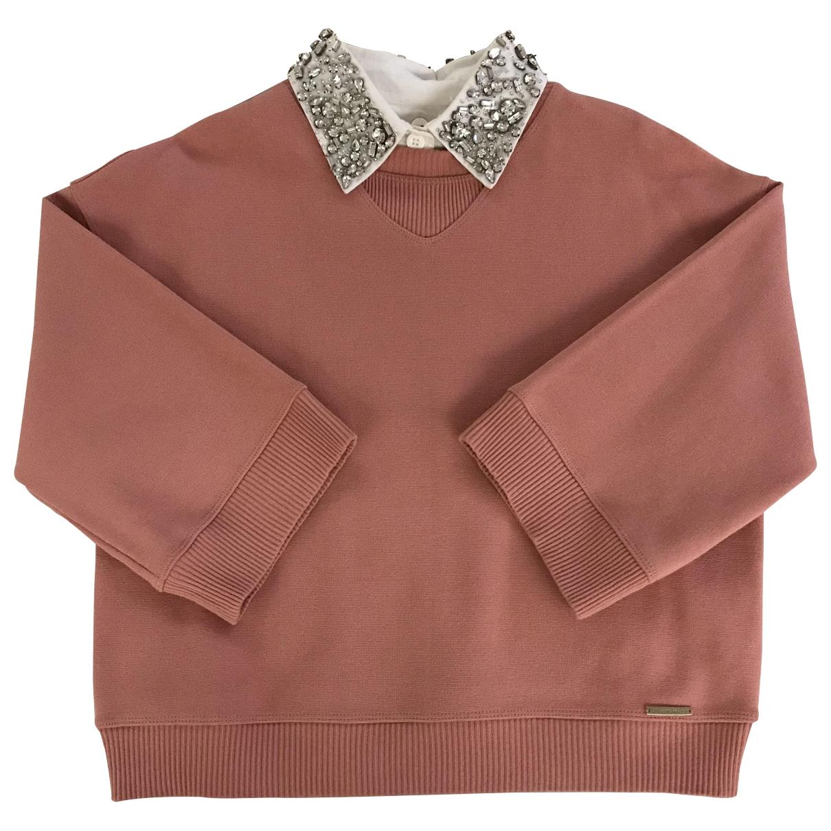 Elisabetta Franchi \N Pink  top for Women 40 IT