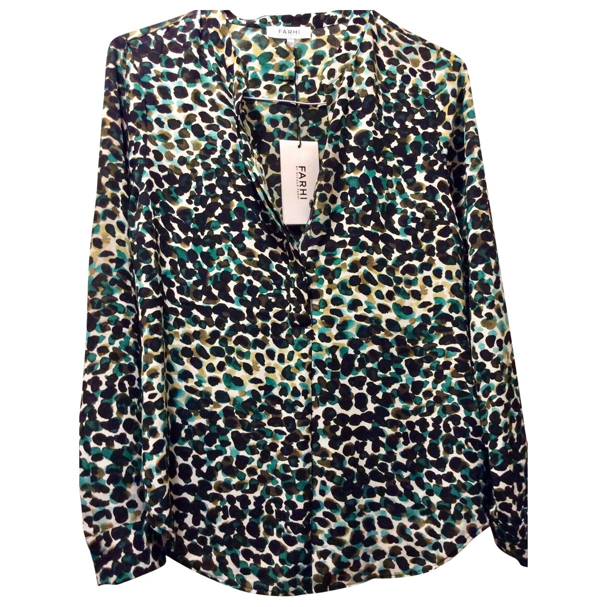 Nicole Farhi \N Green  top for Women 10 UK