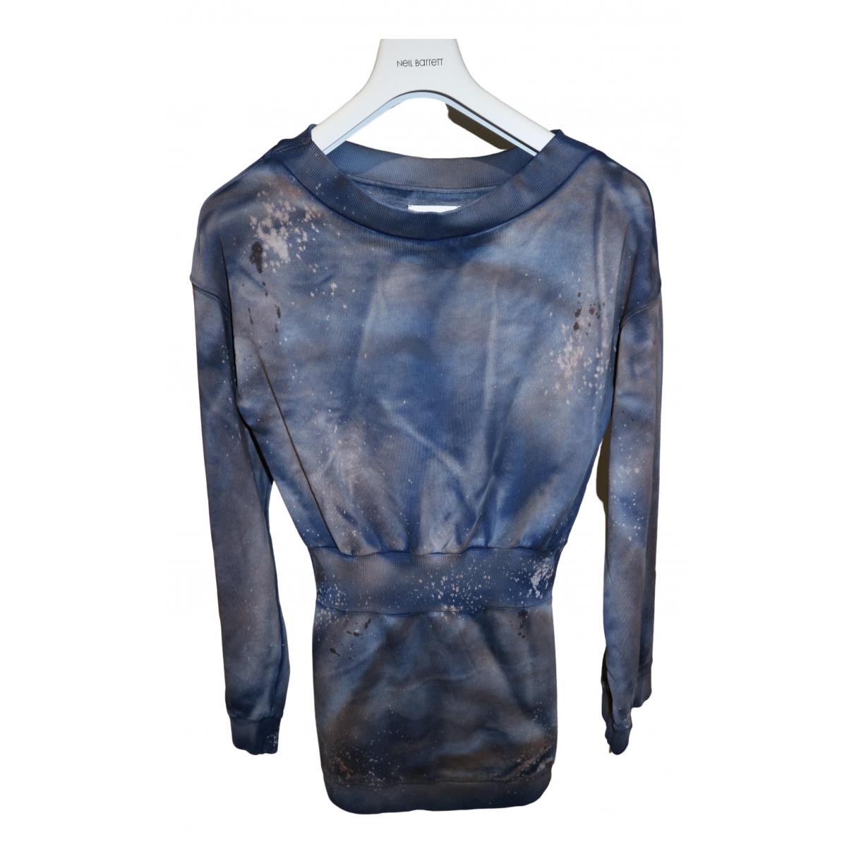 Faith Connexion - Robe   pour femme en coton - bleu