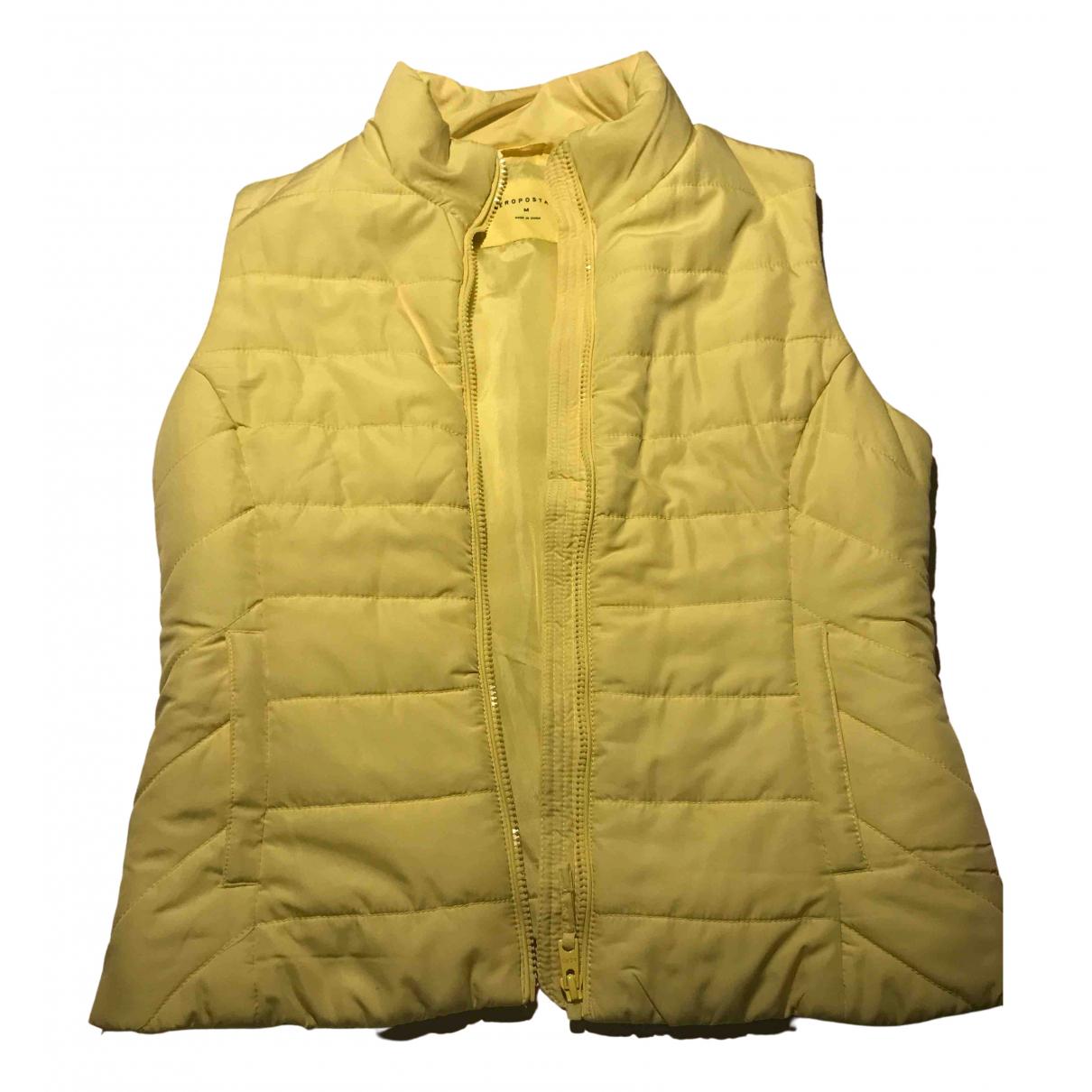 - Veste   pour femme - jaune