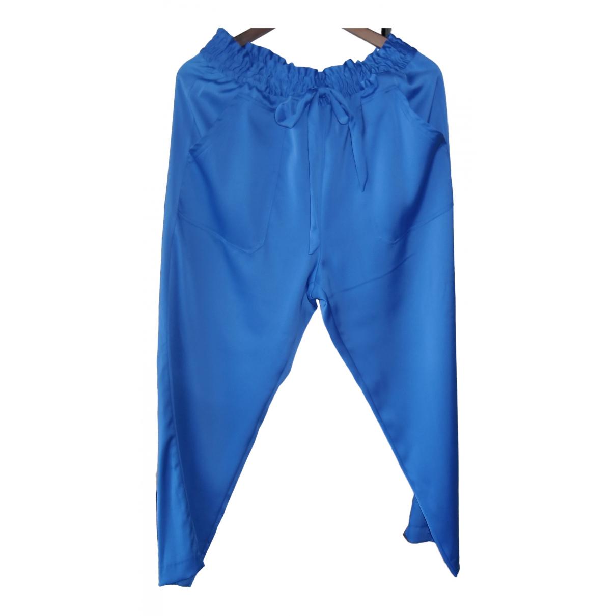 Zara \N Blue Trousers for Women L International