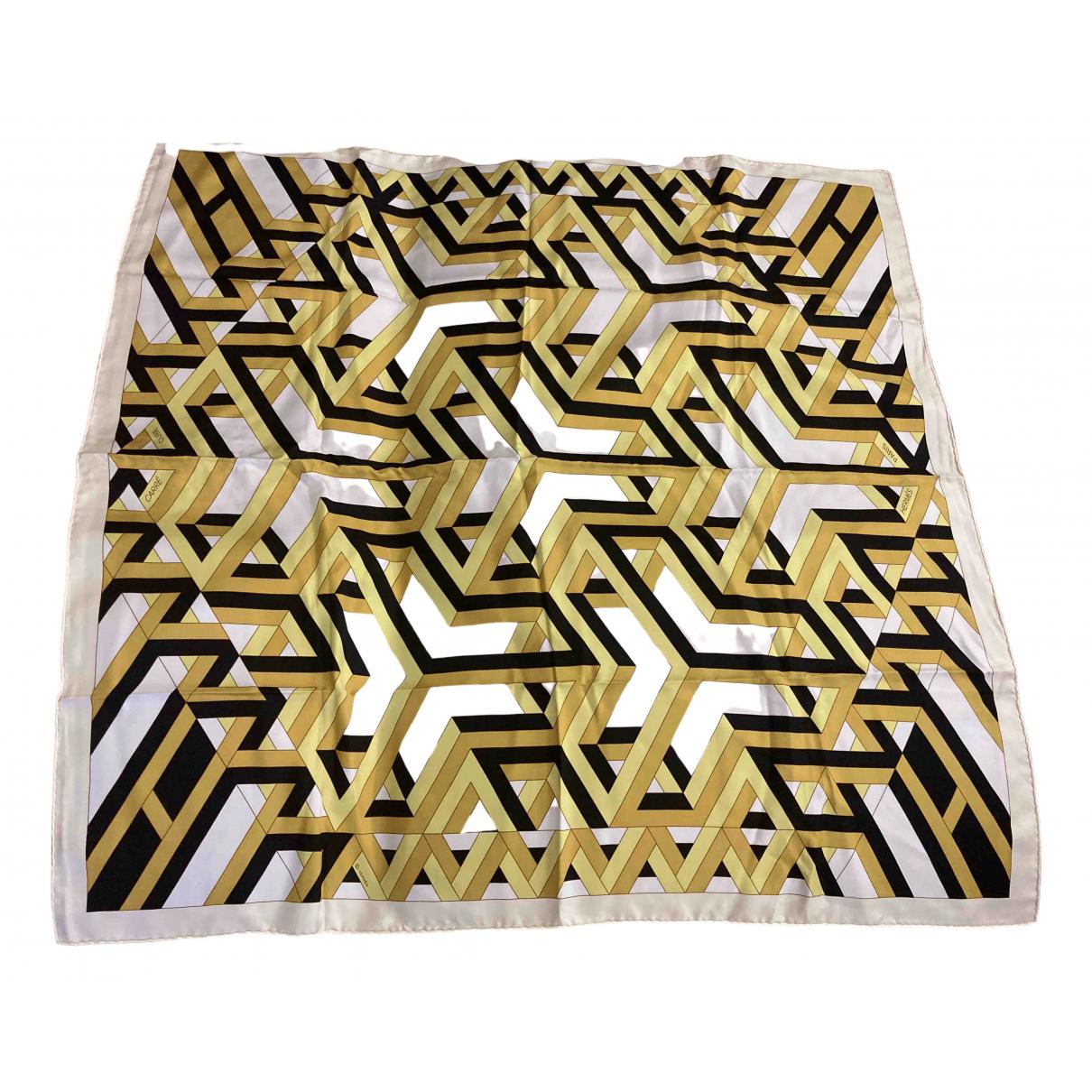 Hermès Carré 90 Yellow Silk Silk handkerchief for Women \N