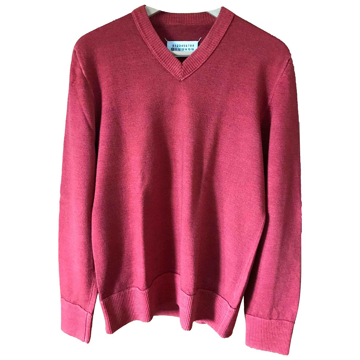 Maison Martin Margiela - Pulls.Gilets.Sweats   pour homme en laine - rouge