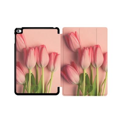 Apple iPad mini 4 Tablet Smart Case - Pink Tulips von Joy StClaire
